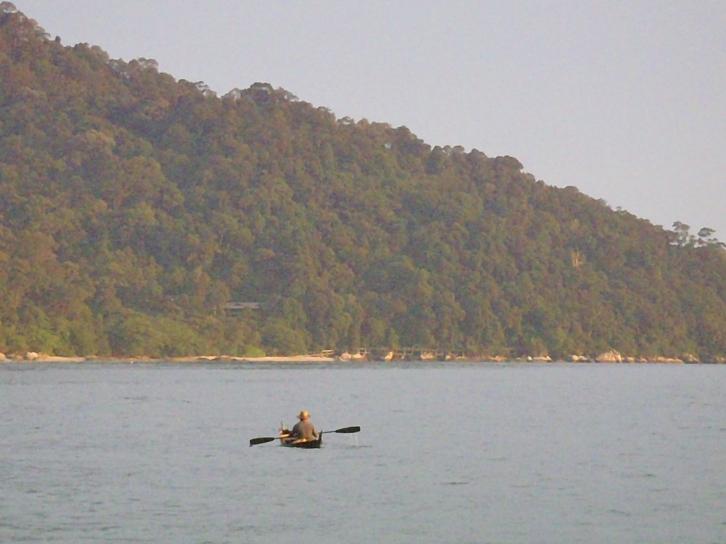 Near Pangkor. Such a big island