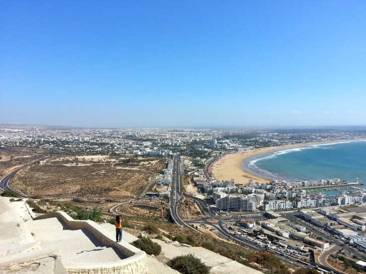 View of Agadir city